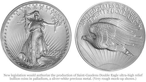 Палладиевая монета (США)
