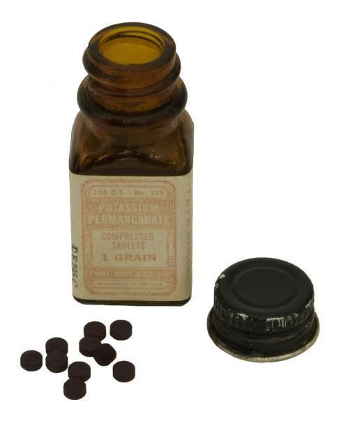 Перманганат калия в таблетках (старинный)