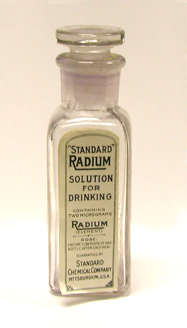 Стандартный раствор радия для внутреннего употребления (Standard Radium Solution for Drinking)