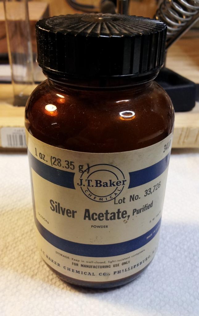 Ацетат серебра