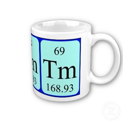 Чашка с символом тулия