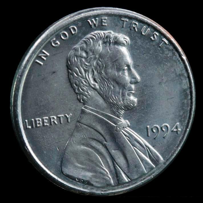 Цинковая монета