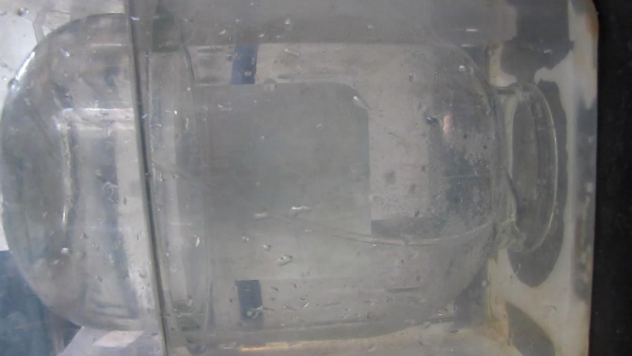 Взрыв гремучего газа в стеклянной банке на 3 л