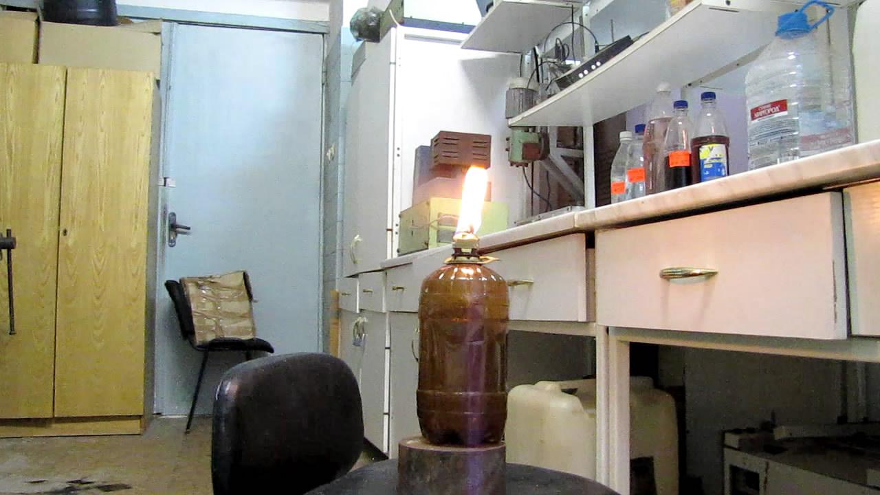 Взрыв гремучего газа: бутылка объемом 1.5 л