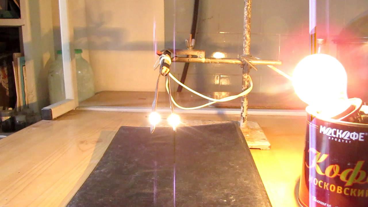 Углеволокно и электрический ток