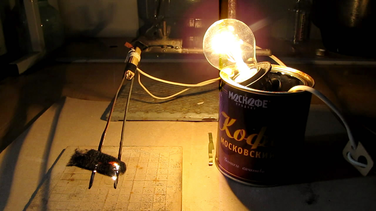 Углевойлок и электрический ток