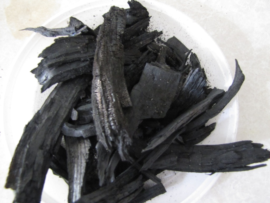 Получение древесного угля