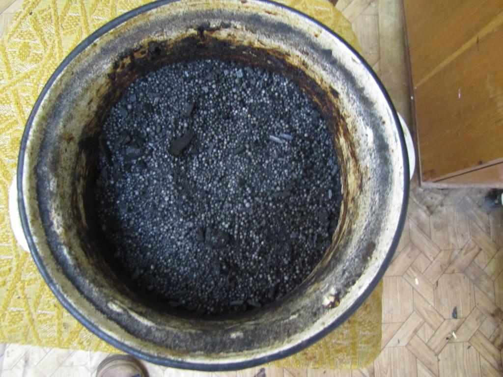 Cмесь 92% аммиачной селитры и 8% угля (1000 г)