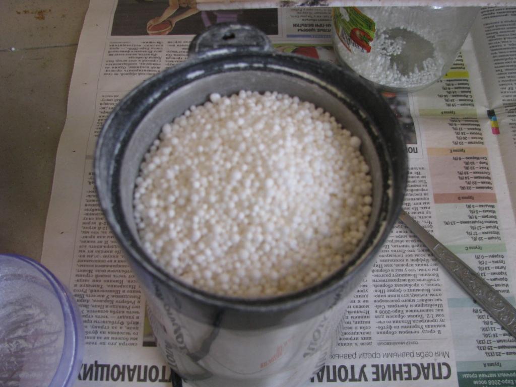 Взрыв сахарного динамона (6000 г, неудачный эксперимент)