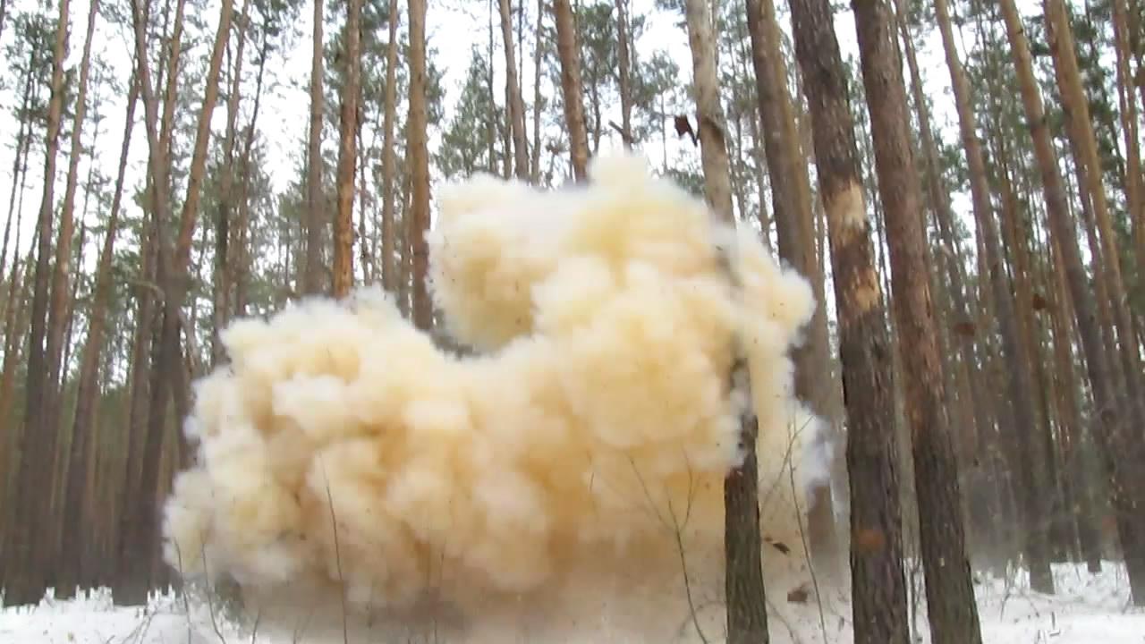 Взрыв сахарного динамона 4200 г