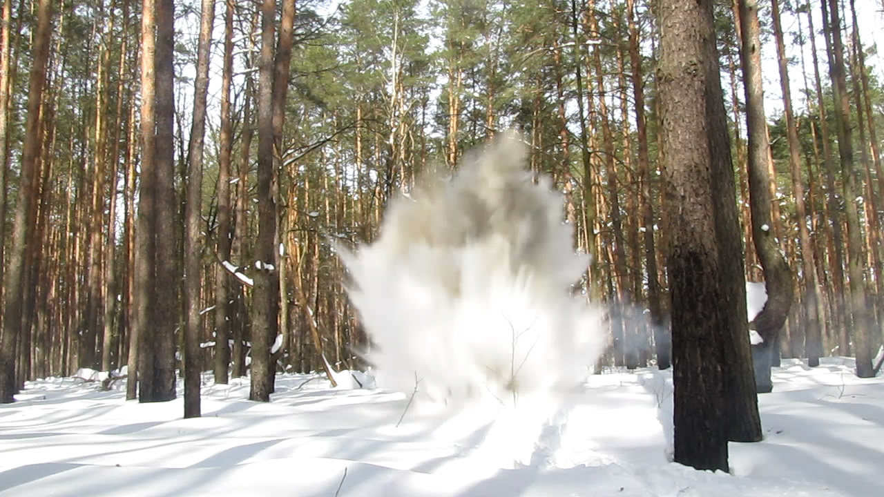 Взрыв аммотропина (2000 г)