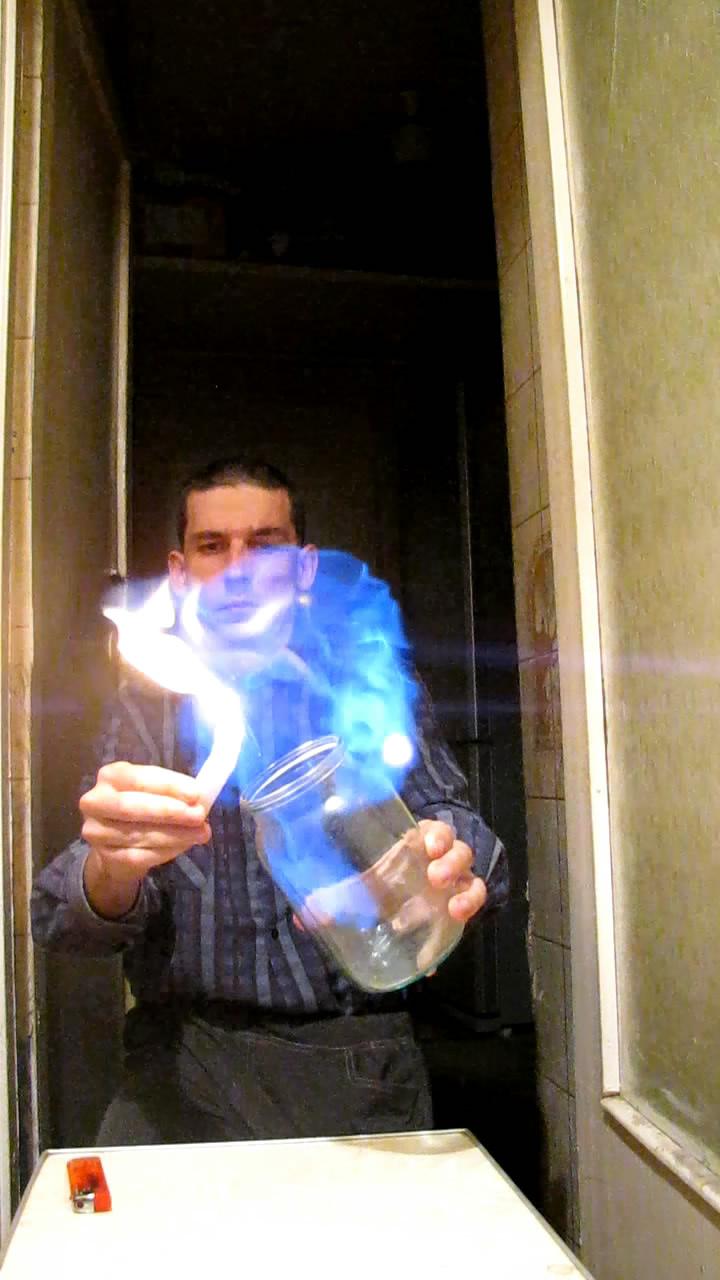 Переливание метана