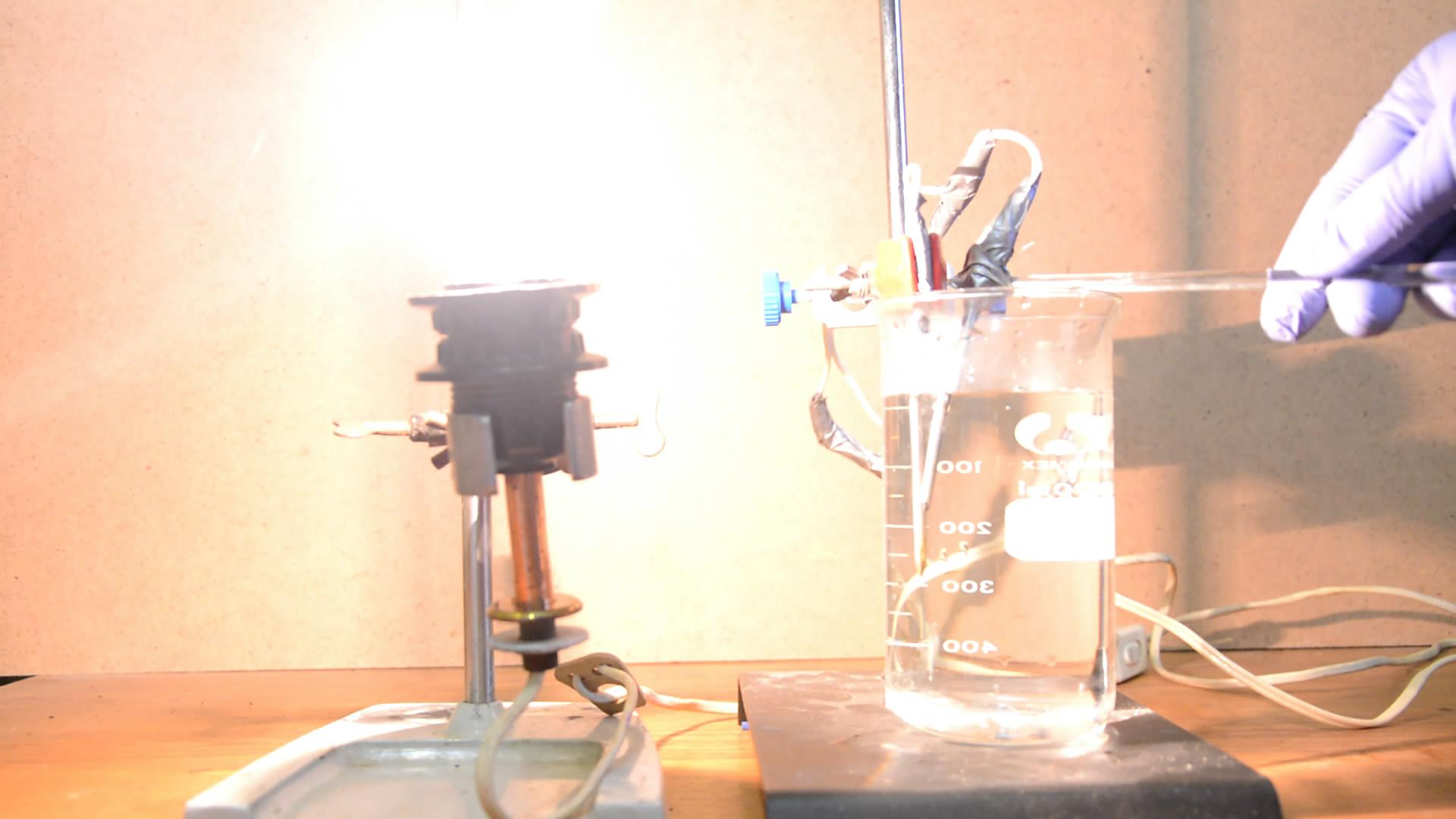 Электропроводность дистиллированной воды
