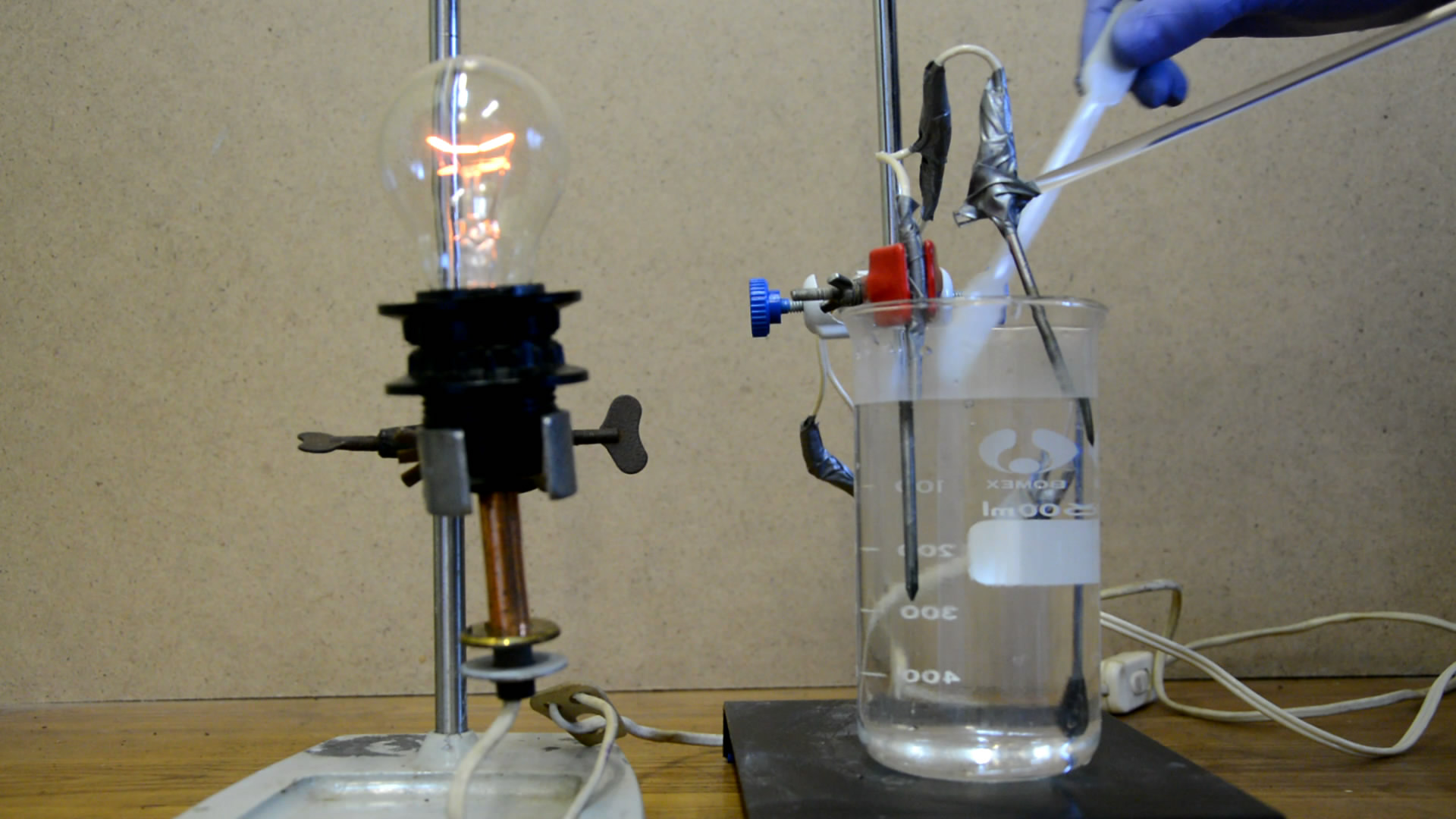 Электропроводность растворов сильных электролитов (сульфат алюминия)
