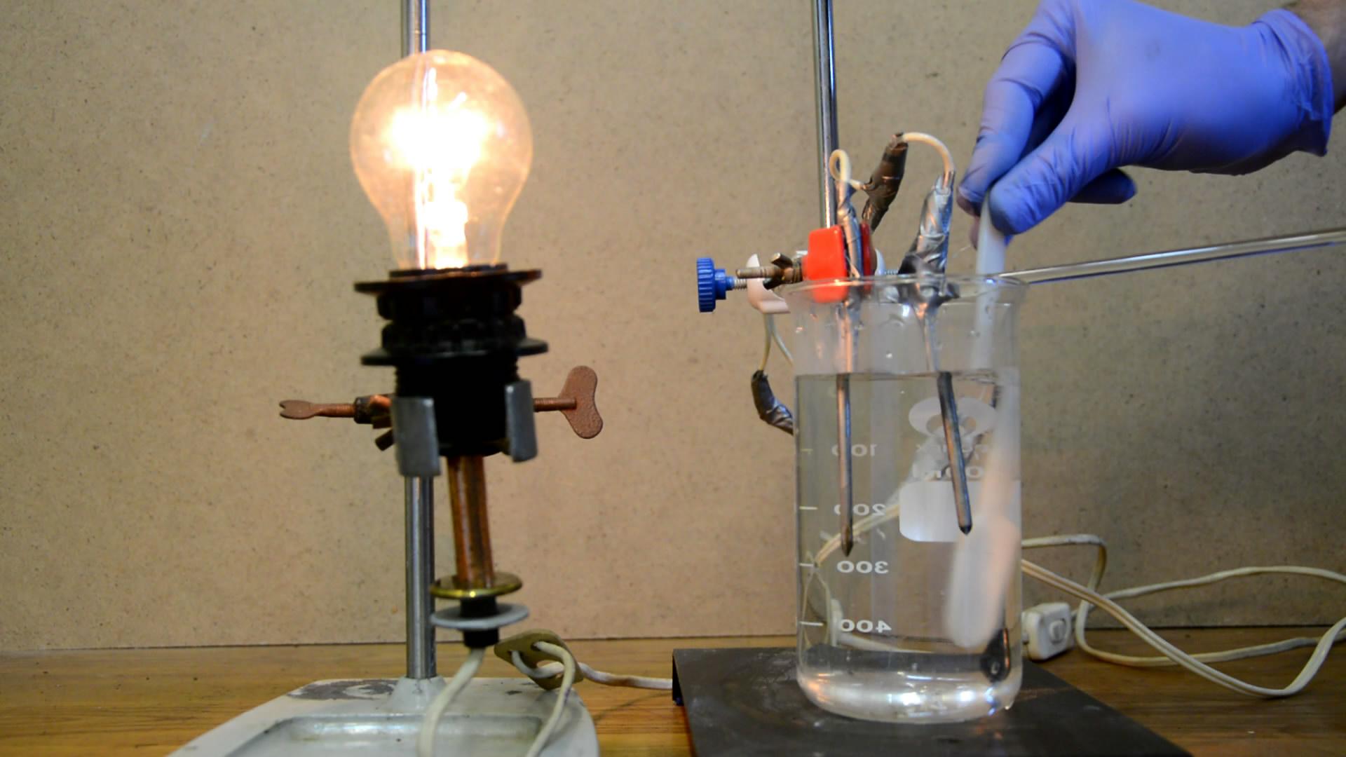 Электропроводность растворов сильных электролитов