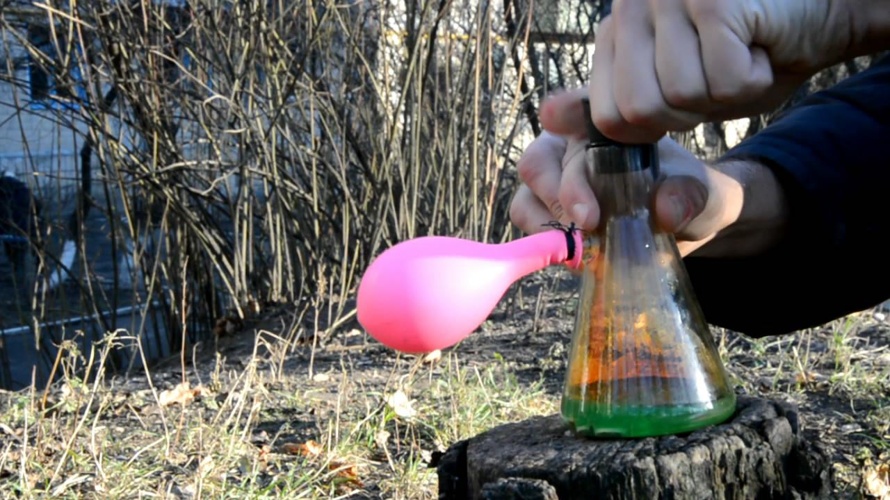 Действие азотной кислоты на украинские монеты