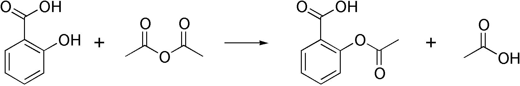 synthesis of acetylsalicylic acid