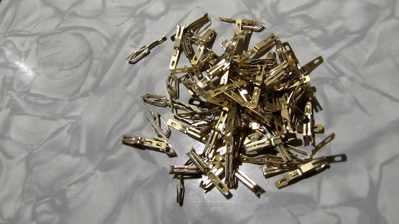 Gold-plated electrical contacts and nitric acid. Позолоченные контакты и азотная кислота