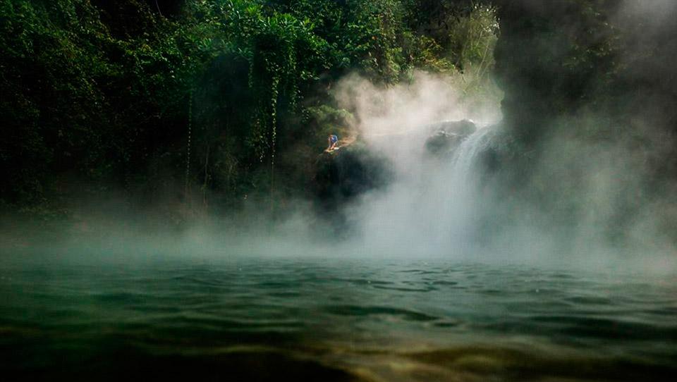 Река, которая кипит. Boiling river