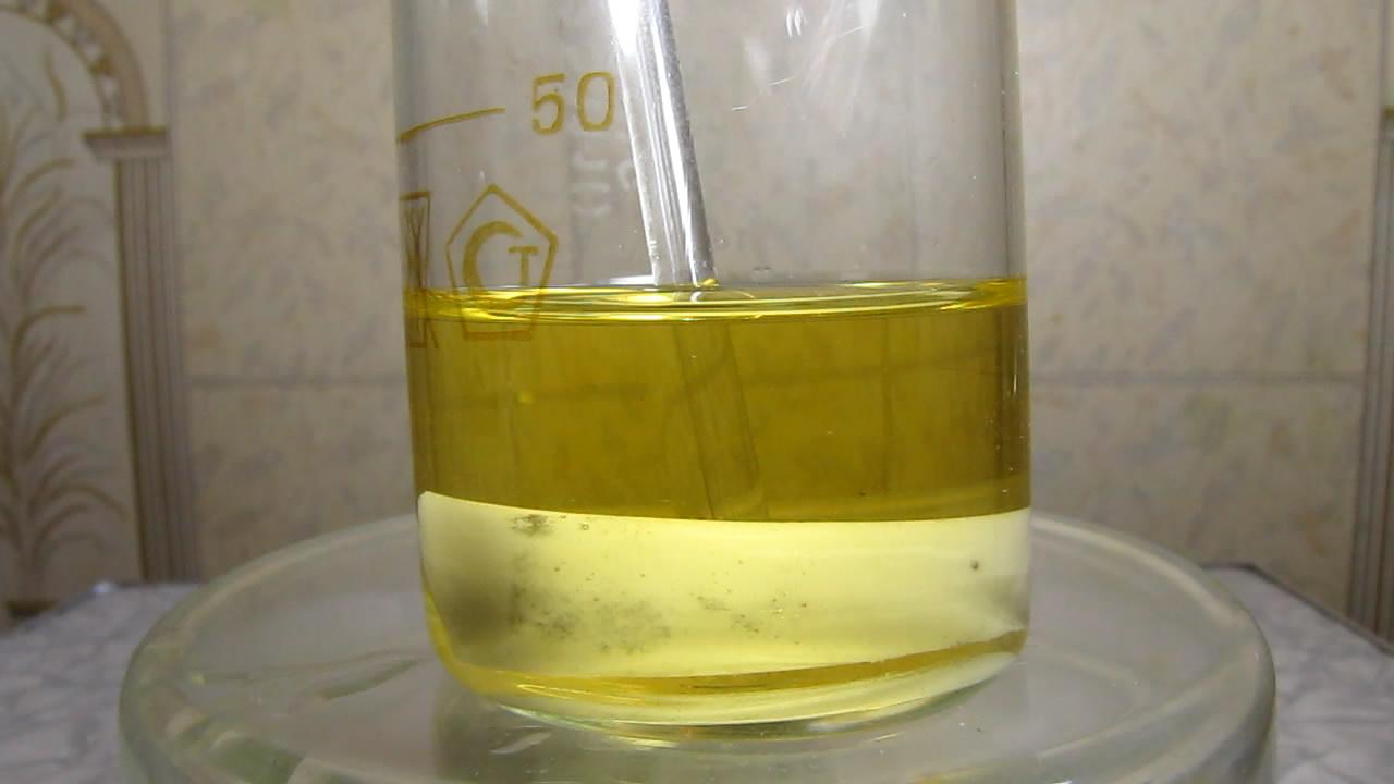 Золото, соляная кислота и азотная кислота. Gold, hydrochloric acid and nitric acid