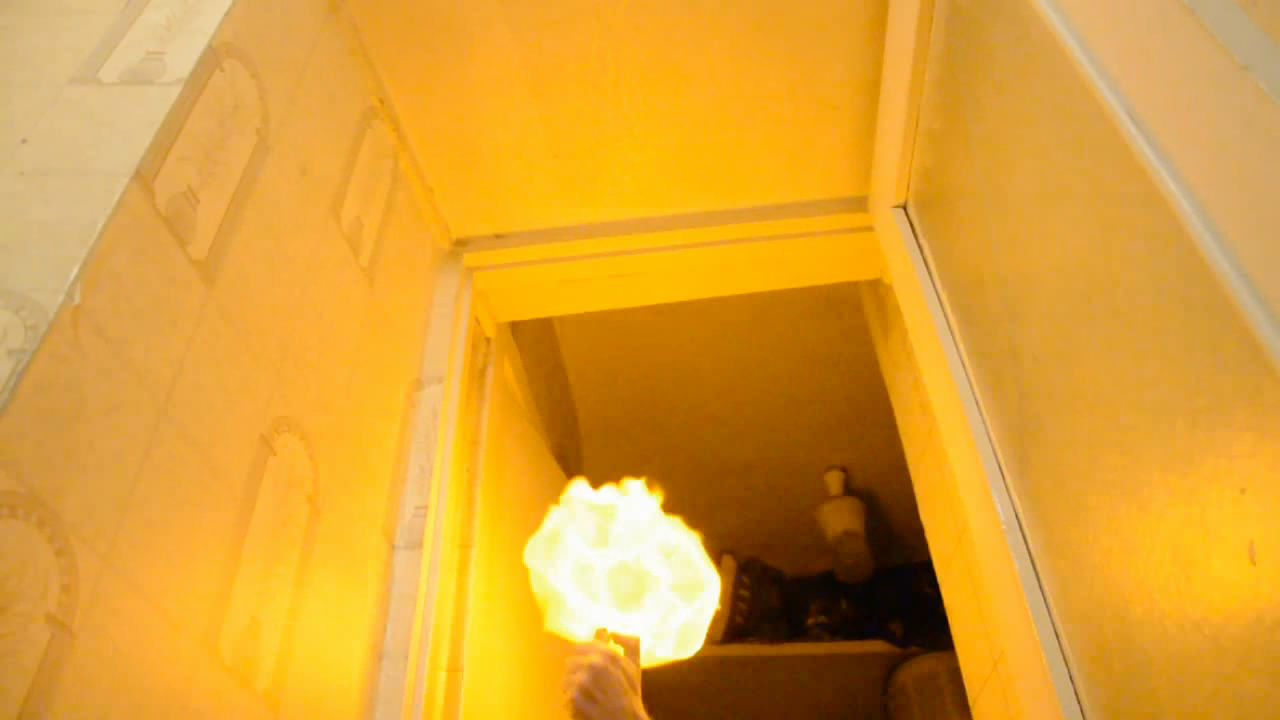 Горелка Бунзена и мыльные пузыри (эксперименты с метаном). Bunsen burner and soap bubbles (experiments with methane)