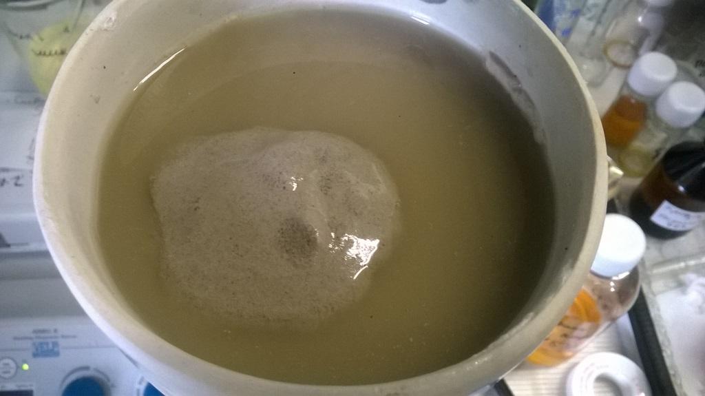 Кислотная активация глины. Acid activation of clay