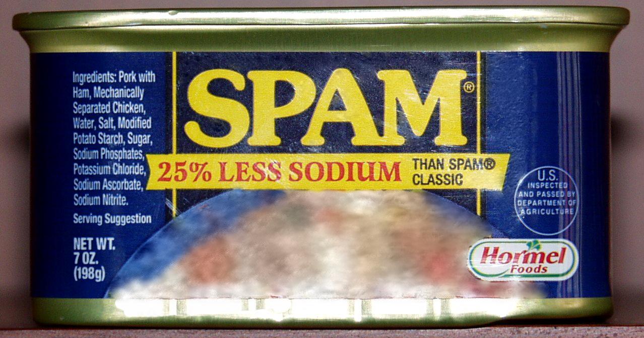 Происхождение слова СПАМ (SPAM). Origin of word ''SPAM''