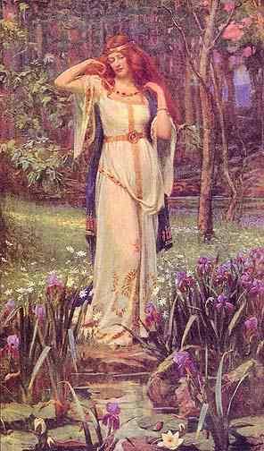 Благодаря разнообразной окраске соединений ванадий назван в честь германской и скандинавской богини красоты Ванадис (она же - Фрейя)