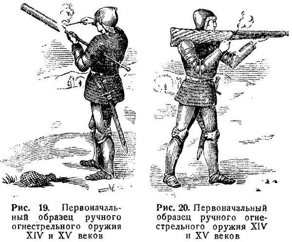 Старинное огнестрельное оружие