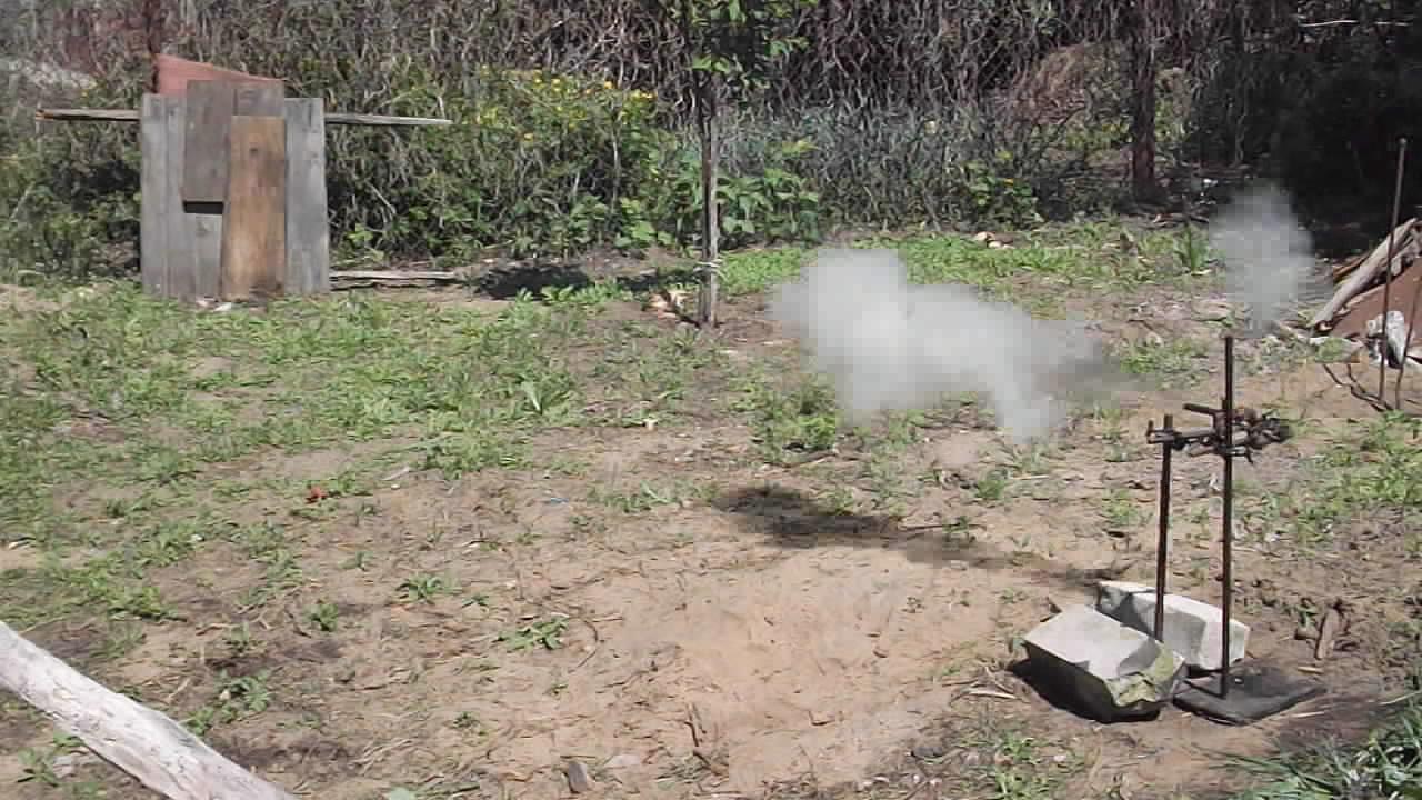 Выстрел огнестрельной трубки