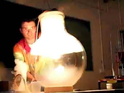 Горение фосфора в кислороде