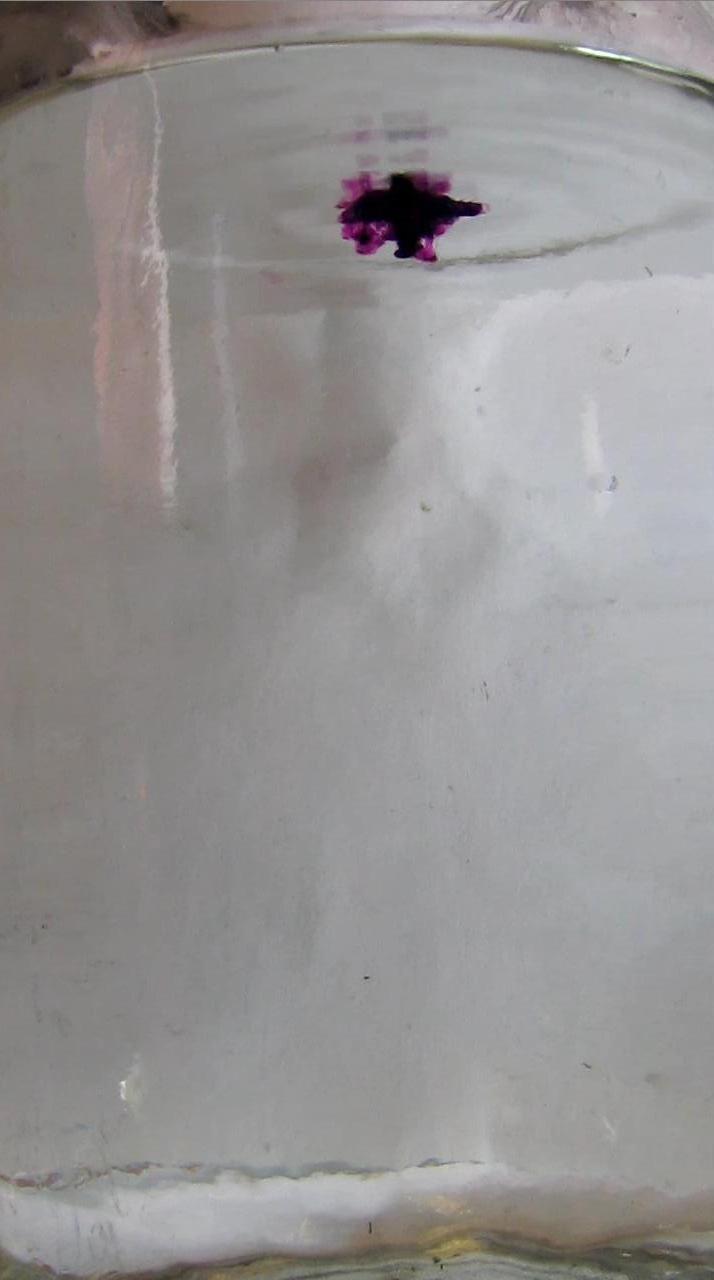 Вихревые кольца с перманганатом калия