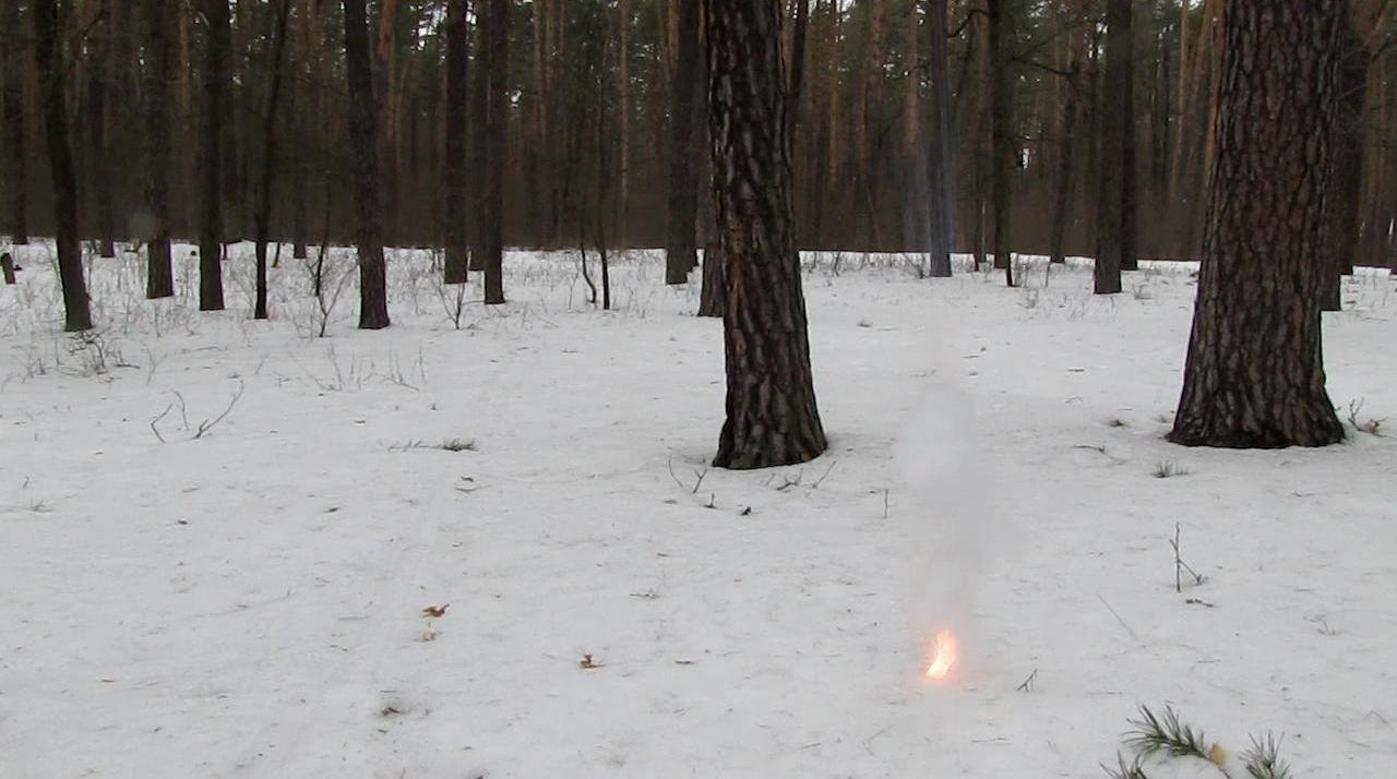 Калий и снег