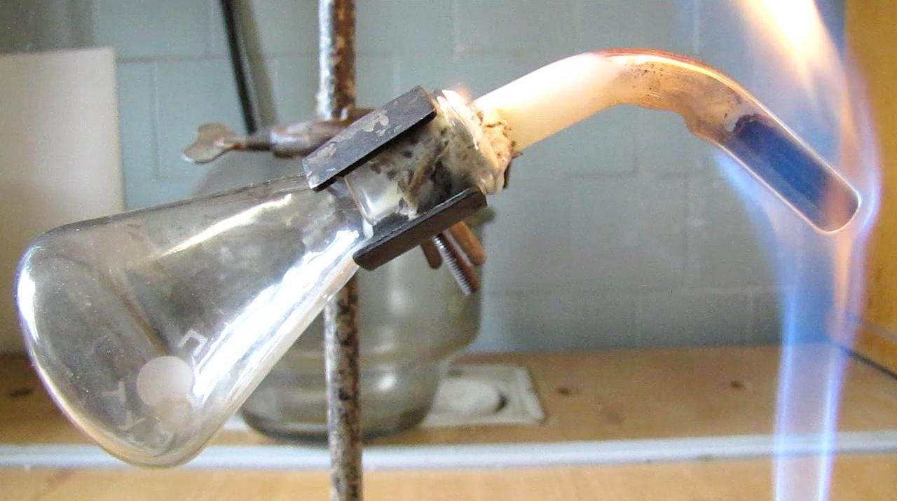 Сублимация красного фосфора