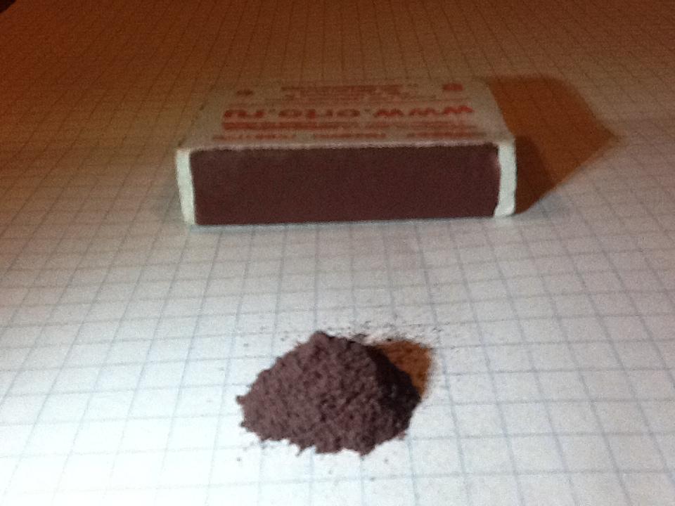 Получение желтого фосфора из спичечных коробков