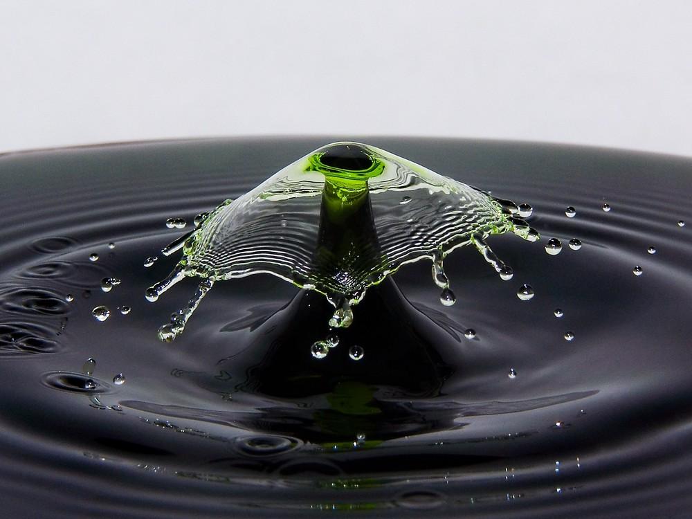 Капли воды (фотографии)