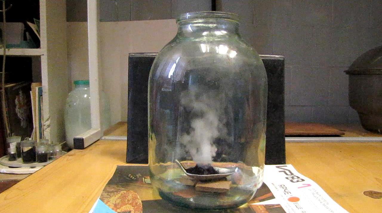 Вулкан Шееле в атмосфере пропан-бутановой смеси - банка на 3 л