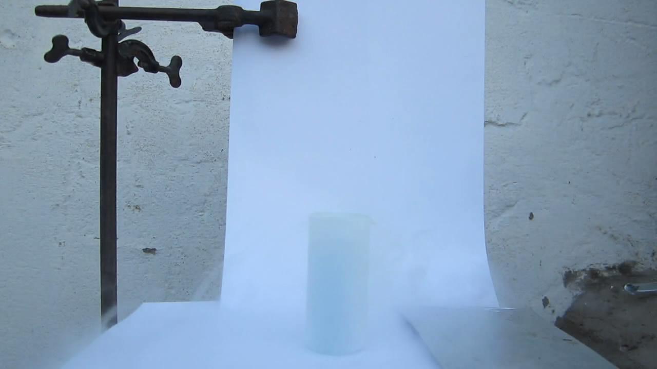 Горение железа в жидком кислороде. Experiments with liquid oxygen