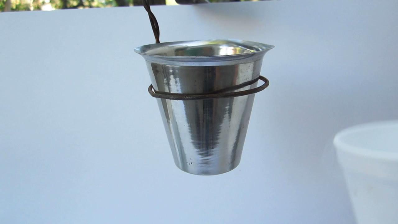 Получение жидкого воздуха. Making Liquid Air