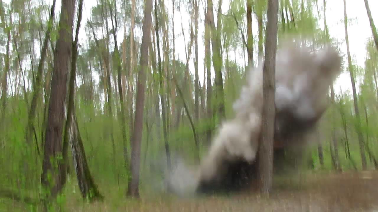 Взрыв аммотропина (3000 г)