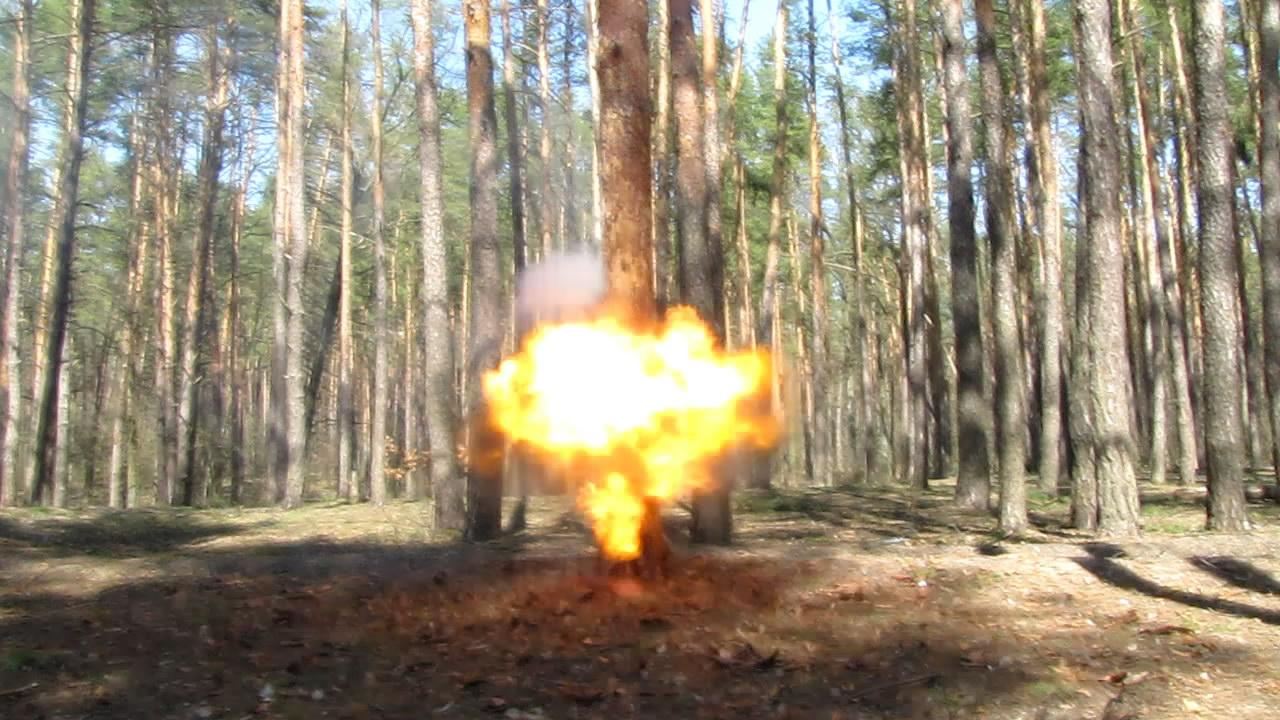 Взрыв пикриновой кислоты