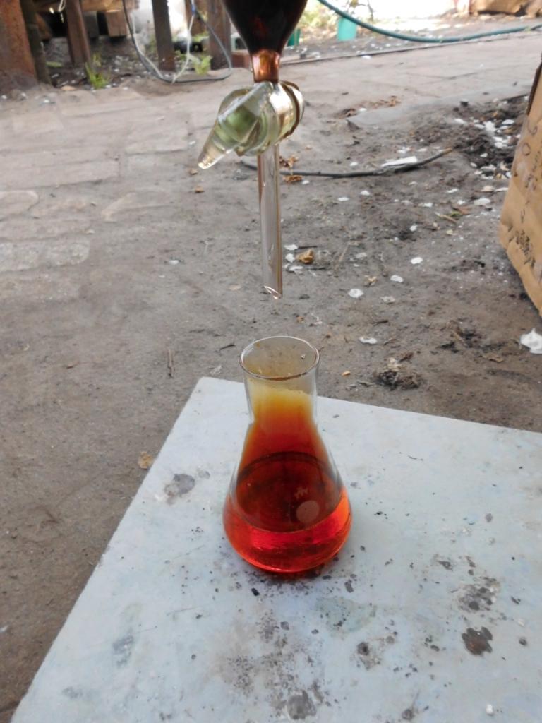Синтез пикриновой кислоты