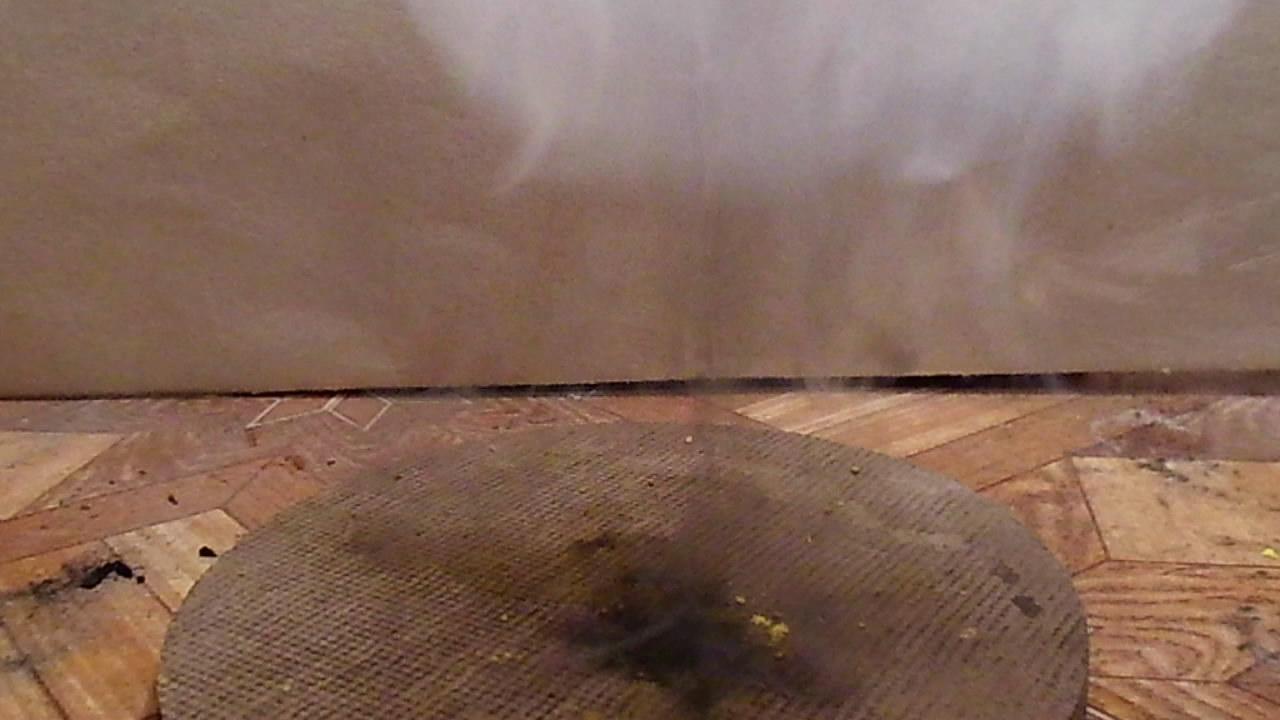 Пикрат калия - горение