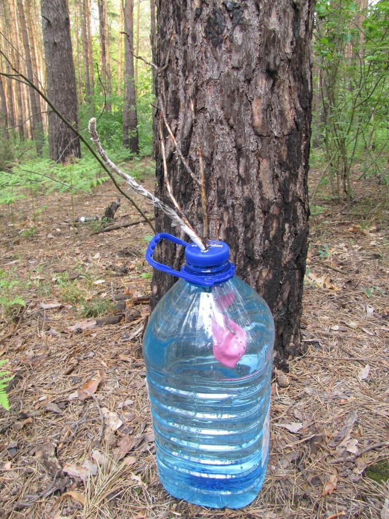 Взрыв ГМТД (3 г) в бутылке с водой (6 л) - неудавшийся эксперимент