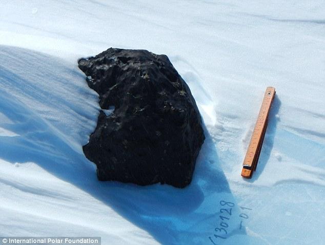 Метеорит, найденный в Антарктиде