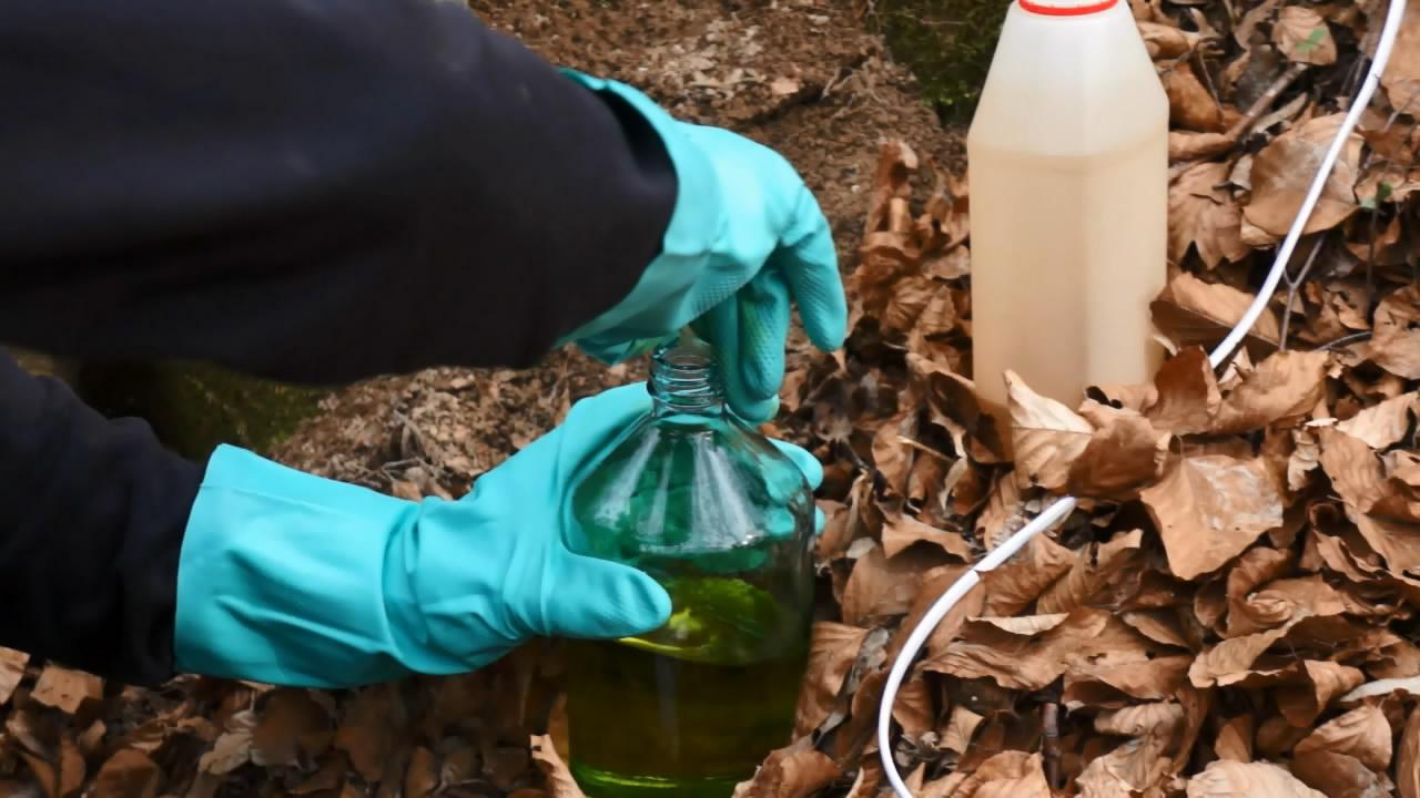 Гельгофит - смесь 28% мононитробензола и 72% дымящей азотной кислоты