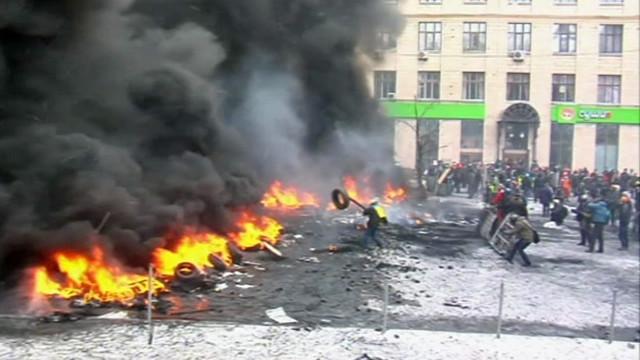 Столкновения на ул. Грушевского (Киев)