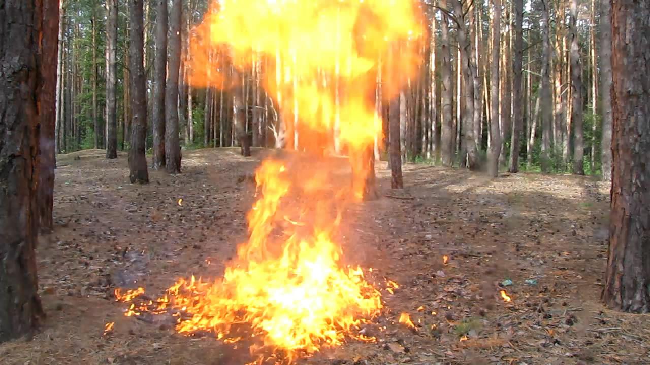 Взрыв баллончика с бутаном (90 мл)