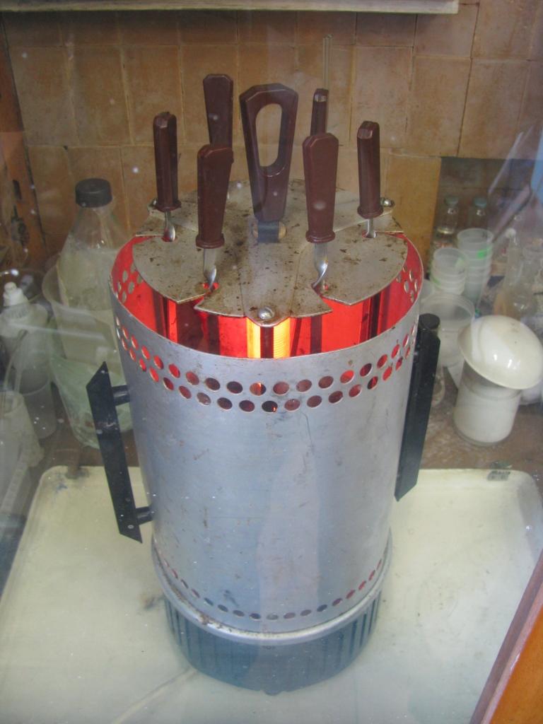 Шашлыки в химической лаборатории