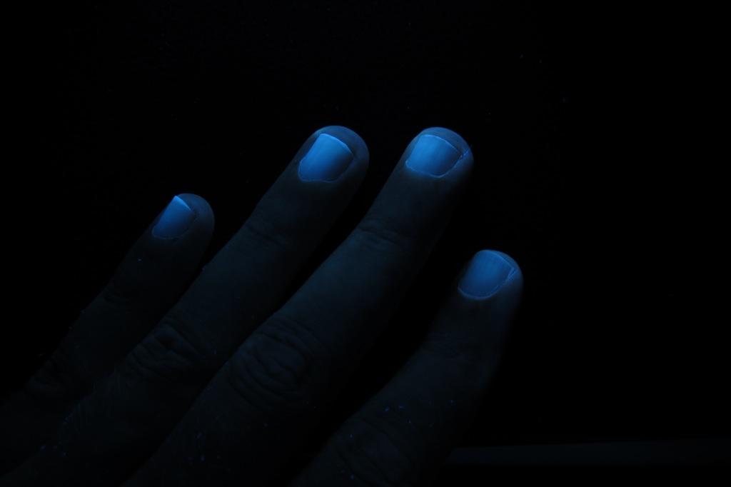 Люминесценция в ультрафиолетовом свете